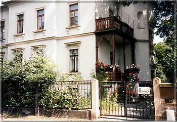 Wägnerstr. 5 in Dresden-Blasewitz - Chess House Mädler (photo from 1998)