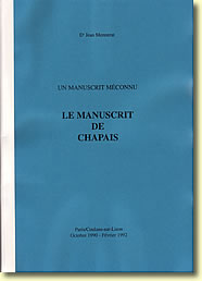 "Much later Jean Mennerat took up the subject ""endgames"" again in a publication: Un Manuscrit Méconnu. Le Manuscrit de Chapais was created over the period October 1990 – February 1992"