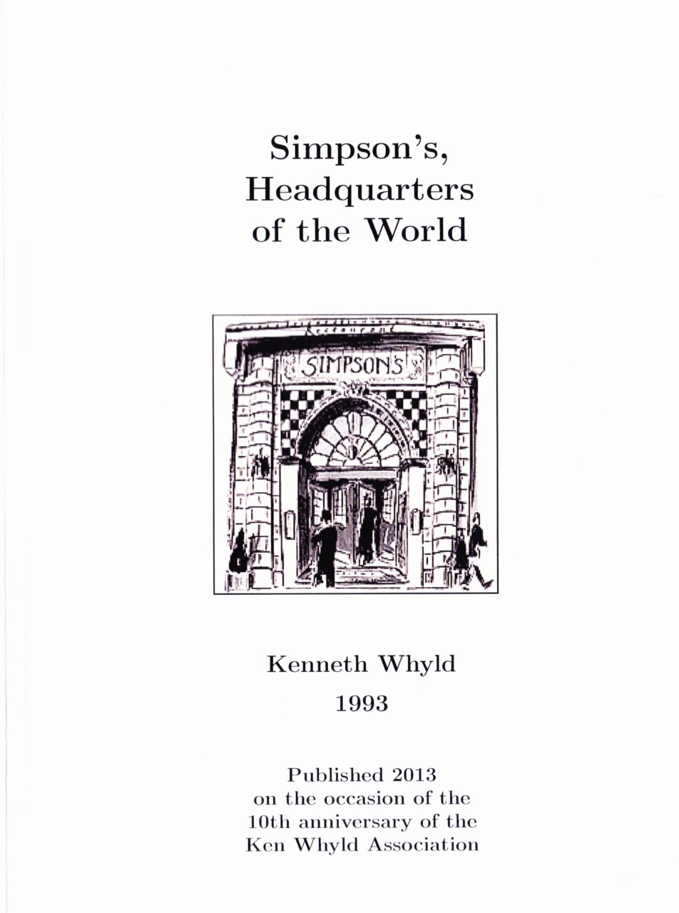 Simpson's, Headquarters of the World