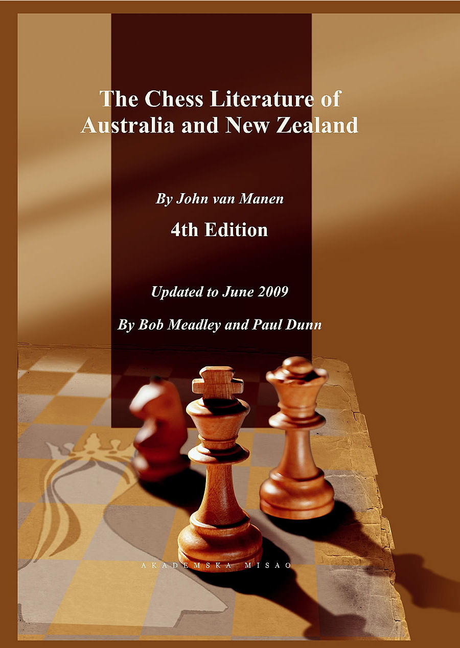 The Chess Literature of Australia and New Zealand